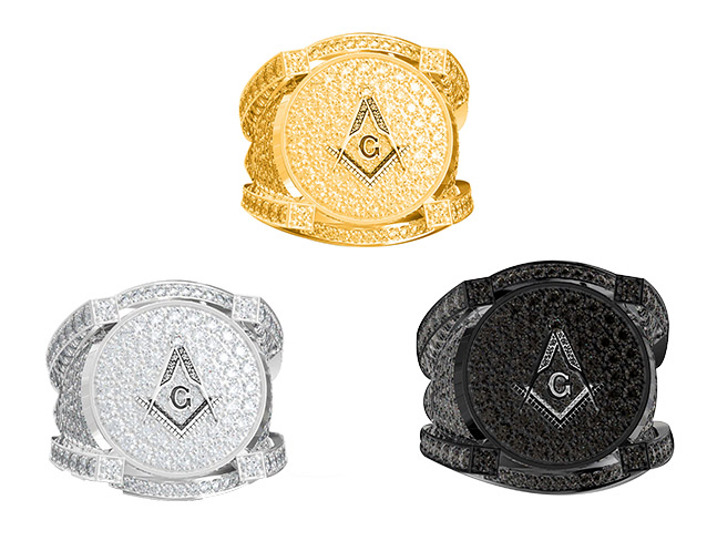 Masonic Ring Metal Options