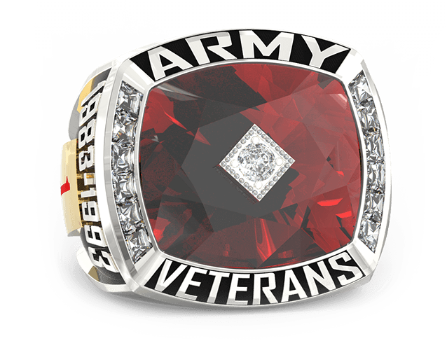 Army Ring Custom Text