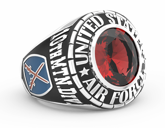 Army Ring Stone